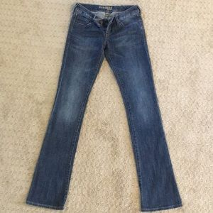 EXPRESS Boot cut leg jeans, size 1 Long